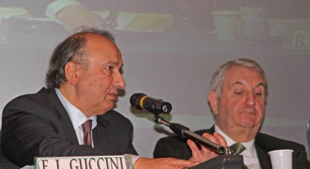L'ingegner Guccini, direttore centrale standardizzazione di Enac e il vice direttore generale, ing. Benedetto Marasà