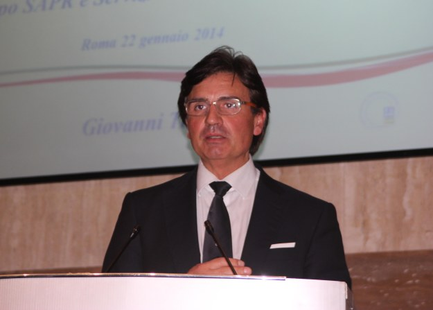 L'avvocato Giovanni Torre di Enav ha chiarito gli aspetti di integrazione con lo spazio aereo