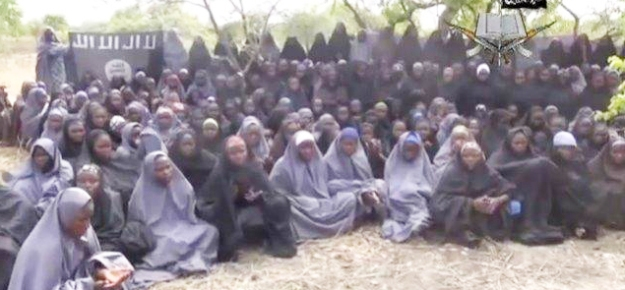 Una delle immagini delle ragazze rapite diffuse dai media. (screenshot RAI)
